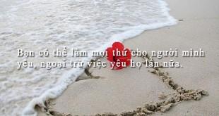 danh ngon tinh yeu 841 310x165 - Bạn có thể làm mọi thứ cho người mình yêu, ngoại trừ việc yêu họ lần nữa.