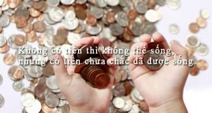 danhngontienbac75 310x165 - Không có tiền thì không thể sống, nhưng có tiền chưa chắc đã được sống