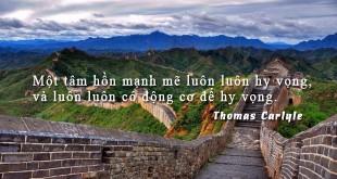 tamhon67 310x165 - Một tâm hồn mạnh mẽ luôn luôn hy vọng, và luôn luôn có động cơ để hy vọng