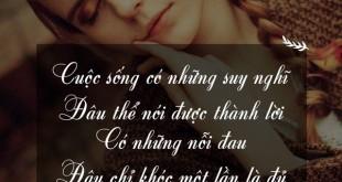 3027 310x165 - Cuộc sống có những suy nghĩ đâu thể nói được thành lời, có những nỗi đau đâu chỉ khóc một lần là đủ