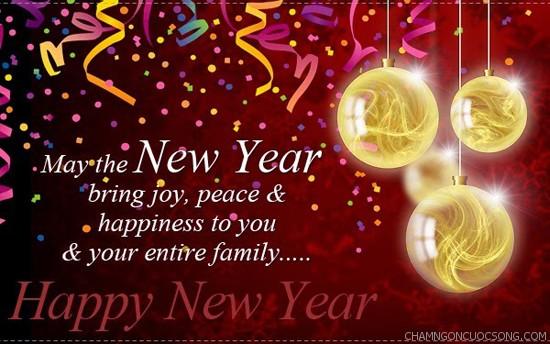 nhung loi chuc mung nam moi bang tieng Anh 1 - Những lời chúc mừng năm mới bằng tiếng Anh